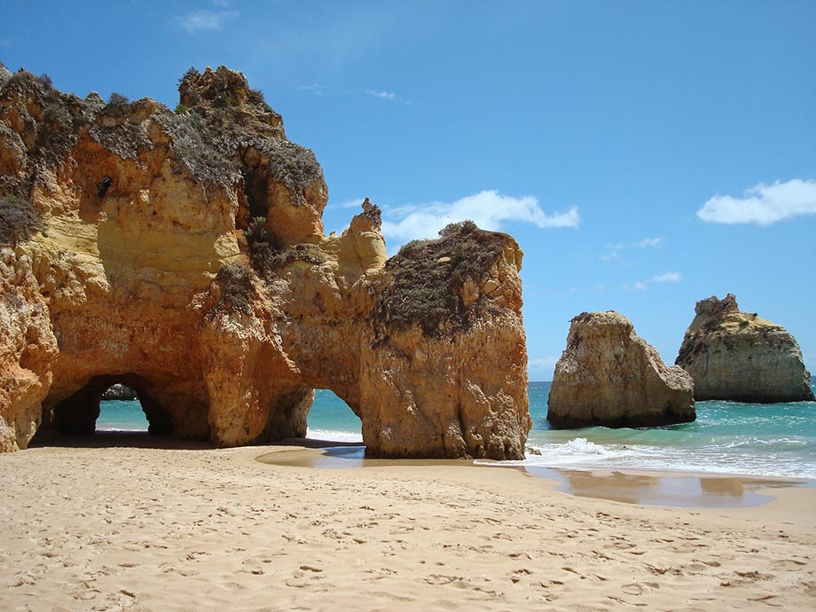 Algarve Portugal am Strand